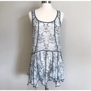 Free People Intimately Sheer Floral Lace Dress